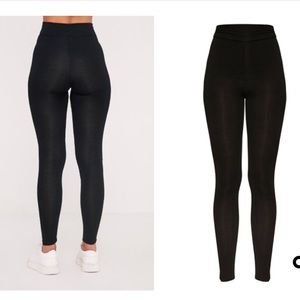 moderate price hottest sale competitive price Dabria Black High Waisted Jersey Leggings NWT